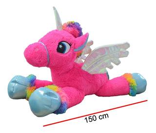 Pony Peluche Unicornio 1.50 M Super Gigante Excelente