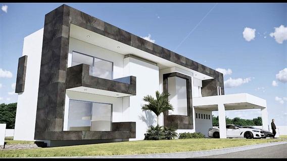 Espectacular Residencia Con Moderno Diseño Y Excelentes Acab