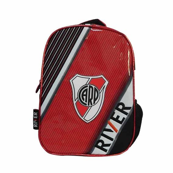 Mochila Futbol River Plate 12 Pulgadas Premium Mmk Ri111