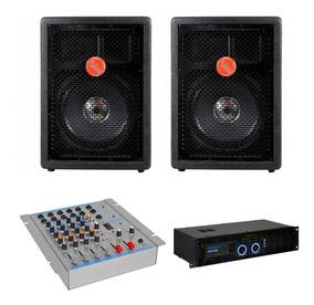 Kit Sistema Pa Caixa Acústica Leacs Fit160 Falante 10 160w