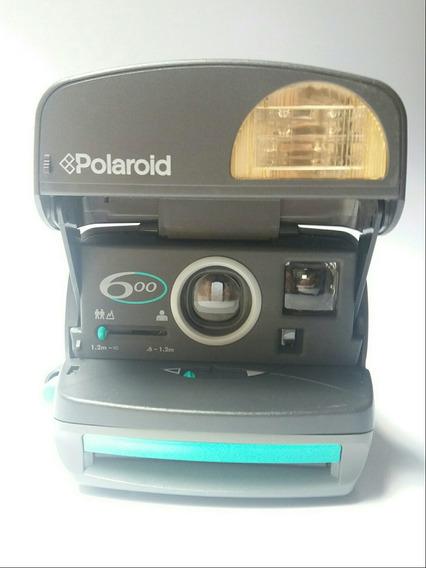 Câmera Fotográfica Polaroid 600 / Peça Para Colecionador