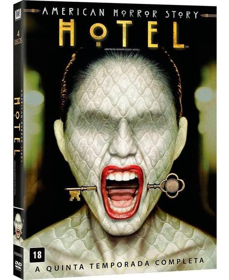 American Horror Story 5ª Temporada - Box Com 4 Dvds - Novo