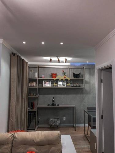 Imagem 1 de 13 de Apartamento À Venda, 61 M² Por R$ 405.000,00 - Parque União - Jundiaí/sp - Ap0163