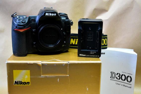 Nikon D300 - Corpo - Somente Com 6k - Abaixei