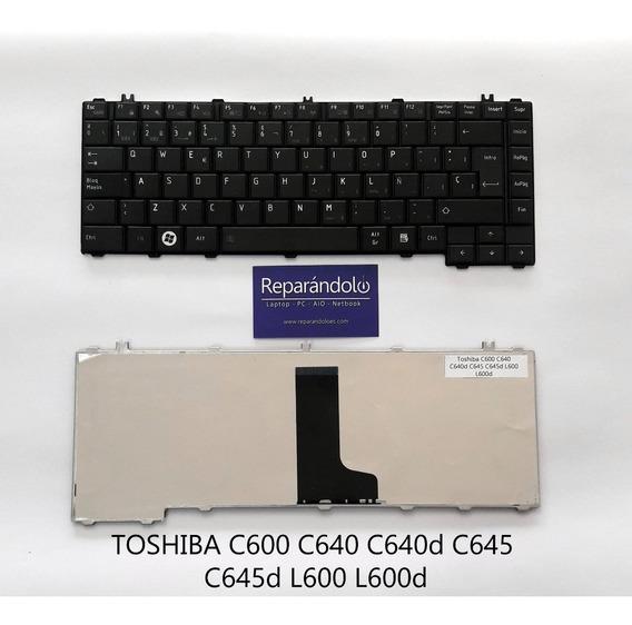 Teclado Laptop Toshiba C600 C640 C645 L600 L640 L645 L700