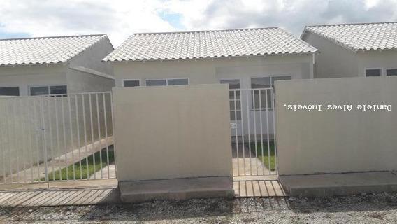 Casa Para Venda Em Queimados, Vila Central, 2 Dormitórios, 1 Banheiro, 1 Vaga - 00209_2-476776