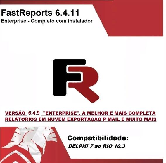 Fastreport Vcl 6.4.11 D Rio 10.3 Full Instalador - Env 5 Min