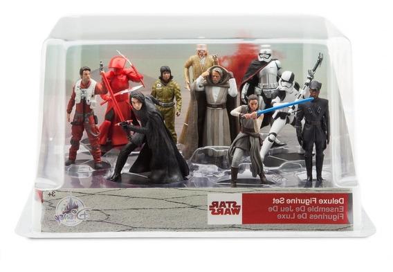 Star Wars Set Figuras Deluxe Disney Store Nuevo Importado