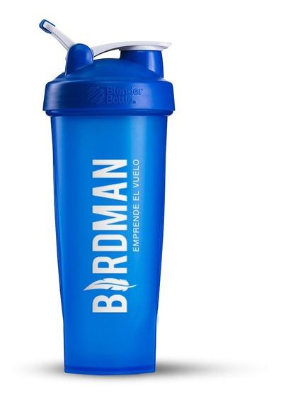 Blender Bottle 600ml 20oz Vida Birdman Color Cyan