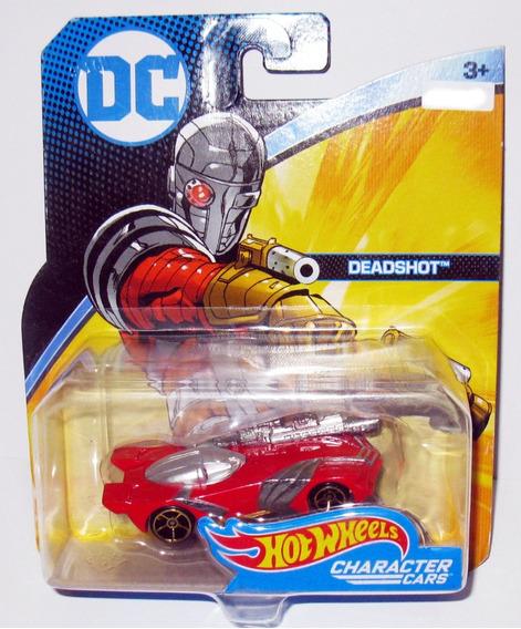 Dc Comics Dead Shot - 1/64 Hot Wheels