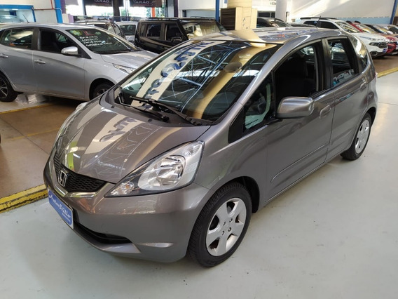 Honda Fit 1.4 Flex Lxl Cinza 2012 (automático + Baixa Km)