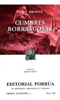 Cumbres Borrascosas Bronte Emily Novela Editorial Porrúa