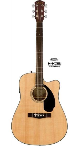 Guitarra Electroacústica Fender Cd-60sce Natural Fishman 6pa