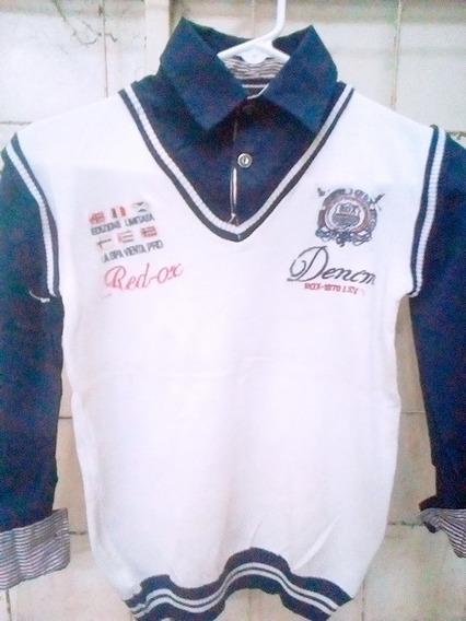 Sueter Camisa 2en1 De Niño En Oferta