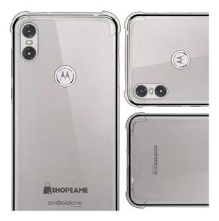 Funda Motorola Moto Case Uso Rudo Protector Transparente Tpu
