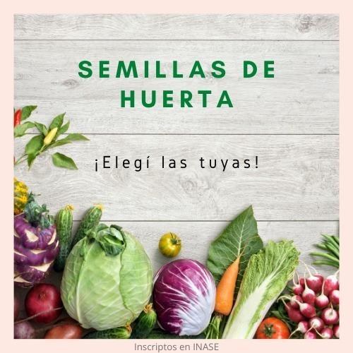 Imagen 1 de 3 de Pack De Semillas Huerta Y Aromáticas - Elegí Las Que Quieras