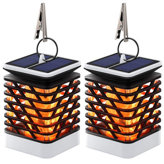 Hallomall Luces Solares Exteriores Impermeables Ip55 Efecto
