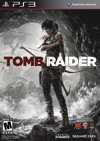 Tomb Raider, Ps3, Psn, Mídia Digital, Jogo Completo