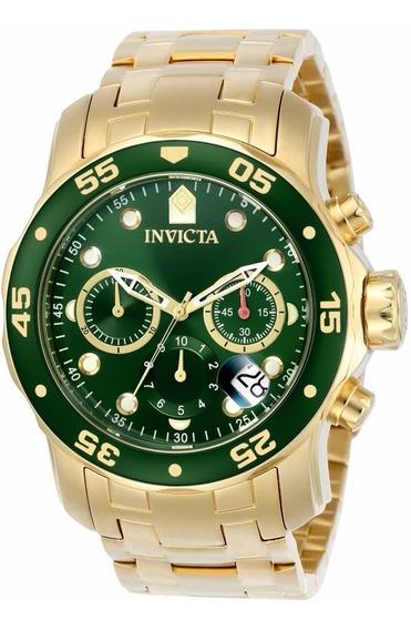 Relógio Invicta Pro Diver 0075 - Dourado - Frete Gratis