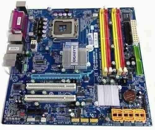 Placa Mãe 775 Gigabyte Ddr2 Core 2 Duo Quad Garantia Até 8gb