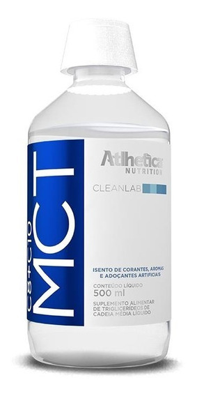 3gliceril M Mct (500ml) Atlhetica Nutrition