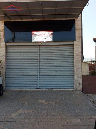 Salão À Venda, 170 M² Por R$ 480.000,00 - Caetetuba - Atibaia/sp - Sl0010