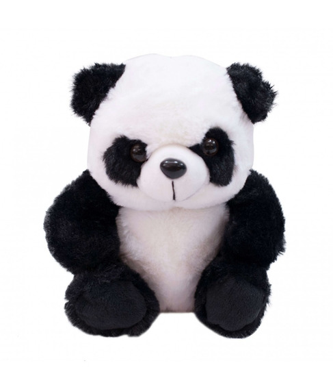 Pelúcia Urso Panda Sentado - 20 Cm - Minas Presente