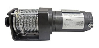 Winch Electrico 2500 Lbs De Arrastre 14 M De Cable Para 12v