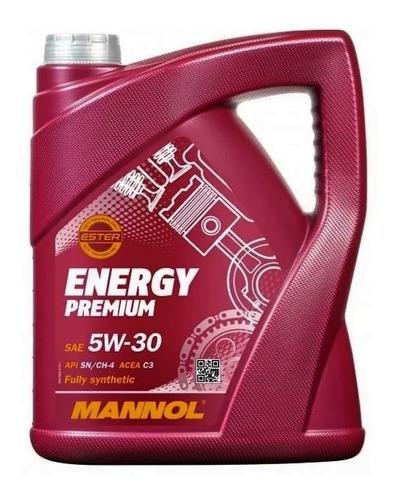 Imagen 1 de 4 de Aceite Mannol Energy 5w30 5lts Sintetico Made In Germany