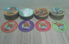 Lote Com 10 Tazos Da Coleção Elma Chips Magic Tazo Tiny Toon
