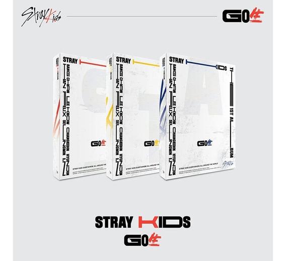 Stray Kids Go Live Cd Nuevo Importado (aleatorio)