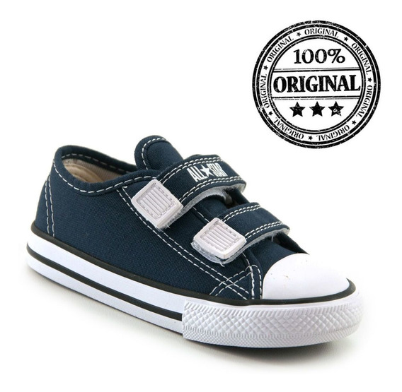 Tenis Infantil All Star Converse Velcro Baby - Ck0508