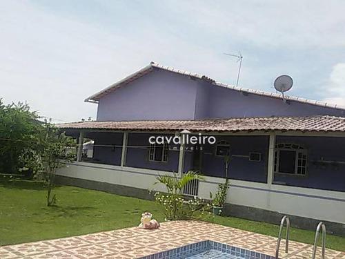 Casa Residencial À Venda, Caxito, Maricá. - Ca2805