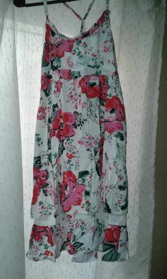 Vestido Flores Breteles - Soho T 42 Solero