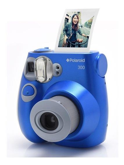 Câmera Polaroid Instantânea Pic 300 Azul