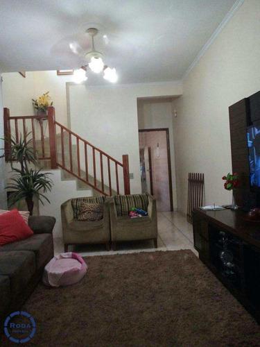 Casa Com 3 Dorms, Vila Cascatinha, São Vicente - R$ 480.000,00, 124m² - Codigo: 9752 - V9752
