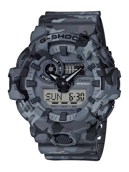 Relógio Original Casio G-shock Ga-700cm-8adr Ga700 Camuflado