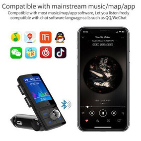 Conector Bluetooth Wireless Veicular Carregador Usb Celular