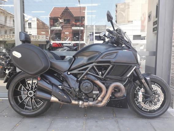 Ducati Diavel Black Carbon Strada Monster Permuto Qr Motors