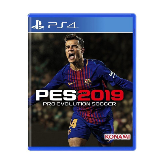 Pro Evolution Soccer 2019 Pes 2019 Ps4 Mídia Física