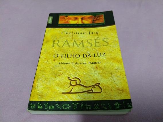 Livro Ramsés O Filho Da Luz