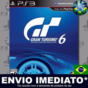Gran Turismo 6 Ps3 Digital Psn Jogo Em Português Envio Agora