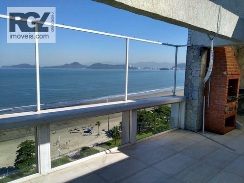 Imagem 1 de 30 de Cobertura Com 3 Dormitórios À Venda, 350 M² Por R$ 1.750.000,00 - Aparecida - Santos/sp - Co0076