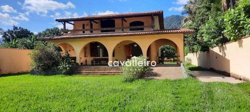 Imagem 1 de 22 de Chácara Com 5 Dormitórios À Venda, 3000 M² R$ 700.000 - Vale Da Figueira (ponta Negra) - Maricá/rj - Ch0076