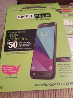 Caja De Samsung Galaxy J3 Luna Pro