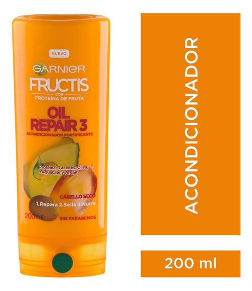 Enjuague Cabellos Secos X200 Oil Repair 3 Fructis Garnier