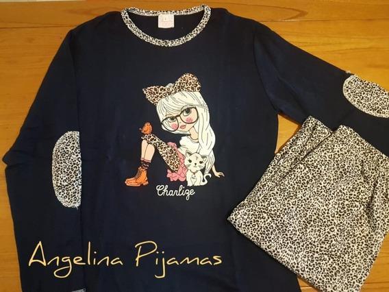 Lote De 5 Pijamas De Invierno De Mujer
