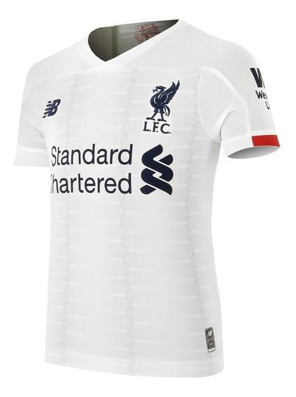 Camiseta Futbol Liverpool Suplente Alternativa Blanca 2020