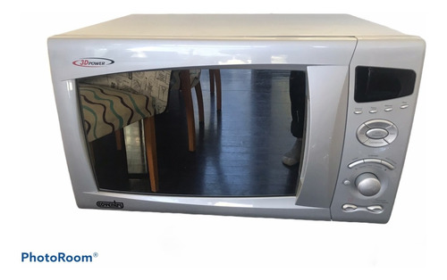 Microondas Grill Coventry Mwc-34dgs Silver 34l 220v