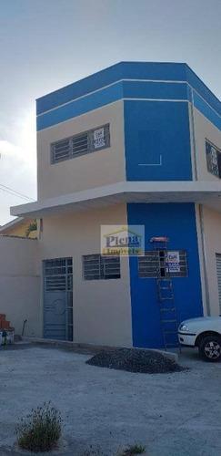 Salão Comercial Para Alugar Com 215 M² - Loteamento Remanso Campineiro - Hortolândia/sp - Sl0844